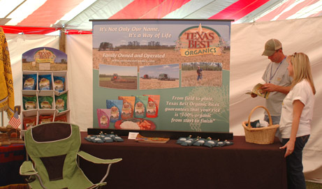 2011 Rice Education Tent