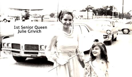 Julie Grivich, First Senior Queen