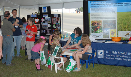 2012 Rice Education Tent