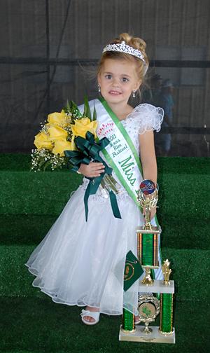 2011 Miss LaPetite, Tyley Marie Breaux