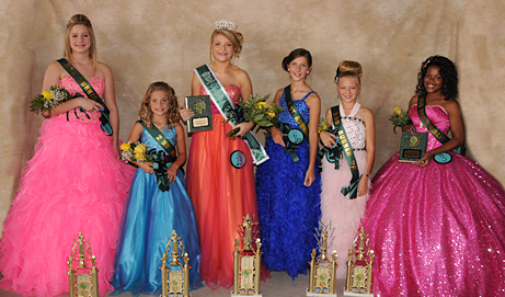 2012 Junior Queen & Court