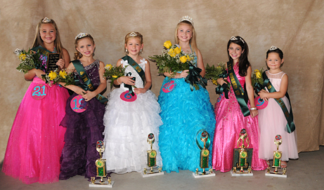 2012 Little Rice Sweetheart &Court