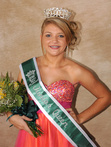 2012 Junior Queen, Kensie Doucette